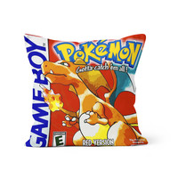 Pokemon Red Charizard Pillow