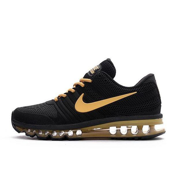 Image of Nike Air Max Fashion Men Casual Running Sneakers Sport Shoes Black