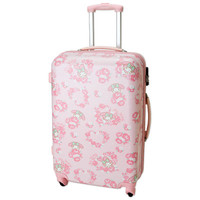 My Melody Zip Around Travel Carry Bag Suitcase Rose Large Size TSA SANRIO JAPAN
