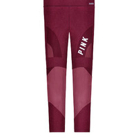 Ultimate Shine Mesh Ankle Legging - PINK - Victoria's Secret