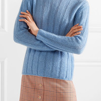 M.i.h Jeans - Carolee ribbed mohair-blend sweater