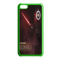 Funny Minion Wallpaper Darth Maul Star Wars iPhone 5C Case
