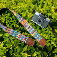 Camera Strap - Soul of Tribal for DSLR and Mirrorless