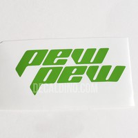 V2 Pew Pew Paintball Sticker