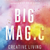 "Big Magic: Creative Living Beyond Fear by Elizabeth Gilbert - Plus Free ""Read Feminist Books"" Pen"