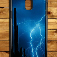 Lightning Cactus Samsung Galaxy Note 3 Case