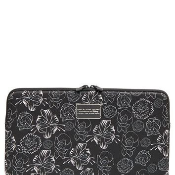 MARC BY MARC JACOBS x Disney® 'Alice in Wonderland - Laughing Flowers' Computer Case (13 Inch)   Nordstrom