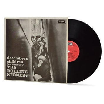 """THE ROLLING STONES - """"December's Children and Everybody's"""" vinyl record"""