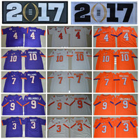 2017 Champions Clemson Tigers College Football Jerseys 4 DeShaun Watson 10 Ben Boulware 7 Mike Williams 9 Wayne Gallman II 3 Artavis Scott