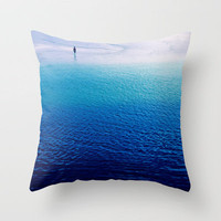 lost Throw Pillow by findsFUNDSTUECKE (Steffi Louis)   Society6