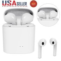 For Apple iPhone X/7/8 Wireless Bluetooth Earphone in Ear Stereo Earbud Headset