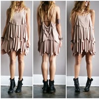 A Braided Flow Dress