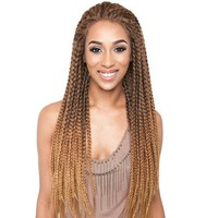 Isis Red Carpet Braided Lace Front Wig - Justice Braids RCP730