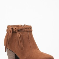 Chestnut Faux Suede Western Chunky Booties @ Cicihot. Booties spell style, so if you want to show what you're made of, pick up a pair. Have fun experimenting with all we have to offer!