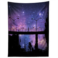 Shannon Clark Night Walk Tapestry