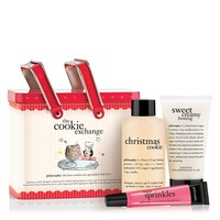 the cookie exchange   gift set   philosophy bath & body value sets