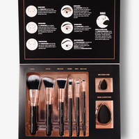 Profusion Cosmetics: Professional Brush Vault - Black/Gold