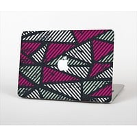 """The Abstract Striped Vibrant Trangles Skin Set for the Apple MacBook Air 13"""""""