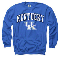Kentucky Wildcats Royal Perennial II Crewneck Sweatshirt