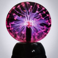 "8"" Sound Responsive Plasma Ball"