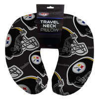 Pittsburgh Steelers NFL Beadded Spandex Neck Pillow (12in x 13in x 5in)