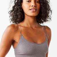 Out From Under Cindy Sparkle Seamless Cropped Cami   Urban Outfitters