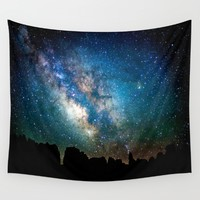The Milky Way Wall Tapestry by Nature's Beauty   Society6