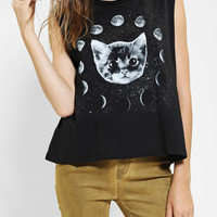 Urban Outfitters - Five Crown Moon Cat Muscle Tee