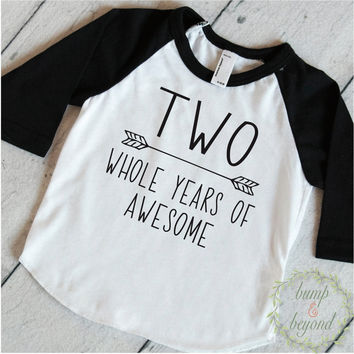 Boy Second Birthday Boy 2nd Birthday Outfit Second Birthday Shirt Boy Second Birthday 2nd Birthday Boy Outfit Photo Prop Two Shirt 242