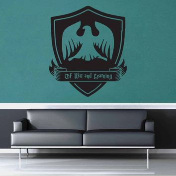 Ravenclaw Crest - Harry Potter - Wall Decal$8.95