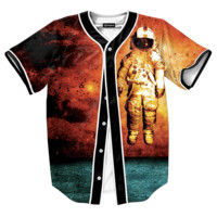 Red Space Jersey