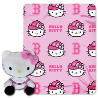 Boston Red Sox MLB Hello Kitty with Throw Combo