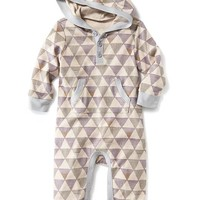 Old Navy Graphic Hooded One Piece