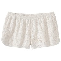 Xhilaration® Juniors Lace Shorts - Assorted Colors
