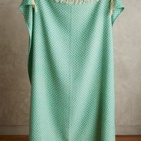 Fringed Almas Throw by Anthropologie