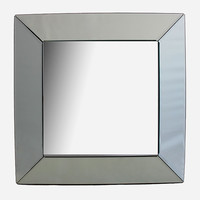 Square Mirror Wall Decor Silver One Size For Women 27550314001