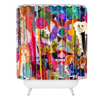 Aimee St Hill Illustration Shower Curtain