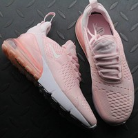 Nike Air Max 270 AH8050-600 Pink Sport Running Shoes - Best Online Sale