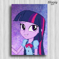 Twilight Sparkle my pony little equestria girls poster