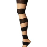 Alice + Olivia Horizontal Stripe Tights