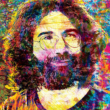 Jerry Garcia Art - The Grateful Dead