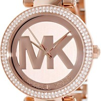 Michael Kors Women's Parker Rose Gold-Tone Watch MK5865