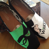 Wicked Custom Toms shoes