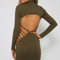 Jeep Dress - Khaki