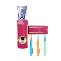 Free shipping Fully automatic toothpaste squeezer toothbrush Family sets Dispenser family Holder bathroom household items