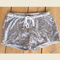 SEQUIN SHORTS - Junk GYpSy co.
