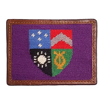 Delta Tau Delta Needlepoint Credit Card Wallet by Smathers & Branson