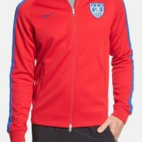 Men's Nike 'USA - N98 World Cup Authentic' Track Jacket,