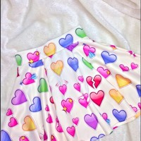 SWEET LORD O'MIGHTY! SUPER LOVE SKATER SKIRT