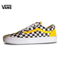 Vans Old Skool Classic Checkerboard Lattices Skateboarding Shoes for Men VN0A856931U 40-44